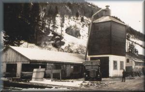 Erstmals urkundlich erwähnt: Sägewerk/Mühle